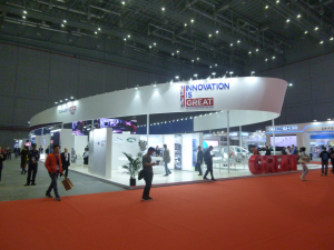 """Mole Solutions was showcased on the UK """"Country of Honour"""" Pavilion at the Chinese International Industry Fair in Shanghai, November 2017."""